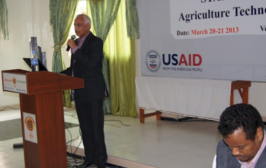 Stakeholders' Workshop: Agricultural Technology Testing and Transfer Hargeisa March 20-21 2013