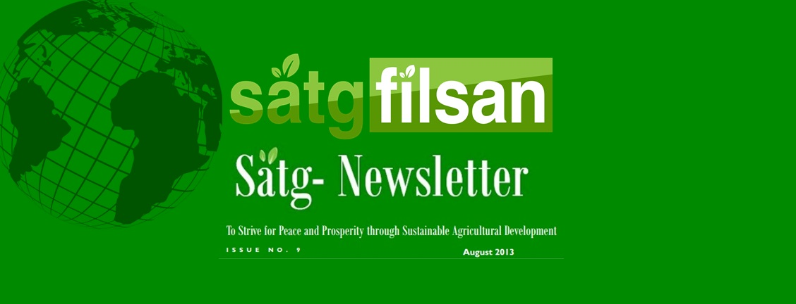 SATG Newsletter: ISSUE NO. 9 August, 2013
