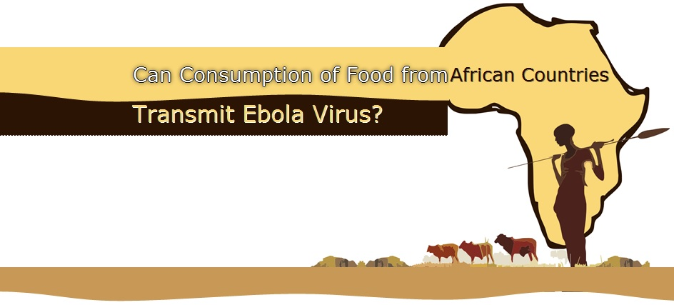 Can Consumption of Food from African Countries Transmit Ebola Virus?