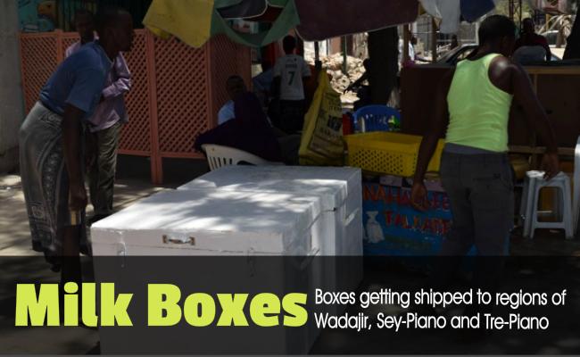 boxes gtting shipped