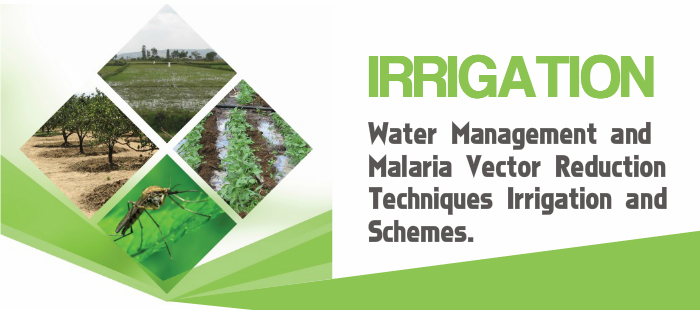 Irrigation Water Management and Malaria Vector Reduction Techniques for Irrigation Schemes